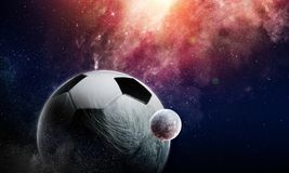 Soccer game concept stock images