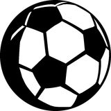 Soccer Ball - Football. Illustration of a soccer ball - football Royalty Free Stock Photography