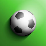 Soccer ball or football background Royalty Free Stock Image