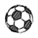 Soccer ball. Football background. Vector Eps8 Stock Images