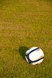 Soccer ball or football ball Stock Photography