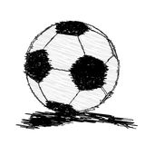 Soccer ball Football ball Stock Images