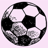Soccer ball, football Stock Images