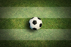 Soccer ball football Stock Image