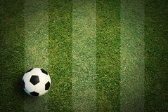 Soccer ball football Stock Images