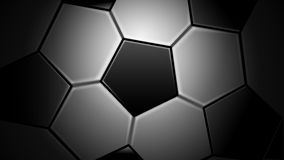Soccer Ball, Football, Sport. Vector Illustration of Soccer Ball Background. Best for Soccer, Football, Sport, Design Element concept Royalty Free Illustration