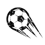 Soccer ball, football vector symbol Royalty Free Stock Images