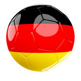 Soccer ball of germany Royalty Free Stock Photo