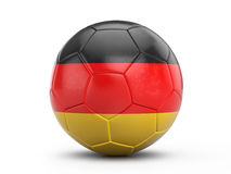 Soccer ball Germany flag Stock Photo