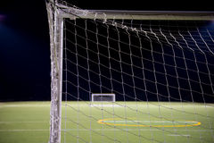 Soccer Ball Goals Royalty Free Stock Images