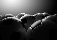 Soccer ball group Stock Photo
