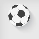 Soccer ball icon Stock Photos