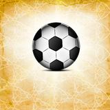 Soccer ball icon, flat design. Stock Photos