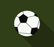 Soccer ball icon illustrated Royalty Free Stock Image