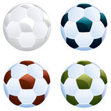 Soccer Ball Icon. Illustration of soccer or football ball icon on white background Vector Illustration
