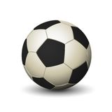 Soccer ball icon Stock Photography