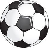 Soccer ball illustration. Made in Adobe illustrator Stock Photo