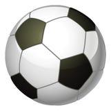 Soccer ball illustration royalty free illustration