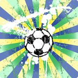 Soccer ball illustration Stock Photos