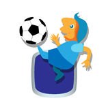 Soccer with Ball Stock Images
