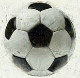 Soccer Ball Sketch Graphic Illustration Stock Image
