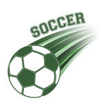 Soccer ball  illustration. Royalty Free Stock Images