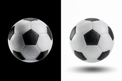 Soccer ball isolate Royalty Free Stock Photo