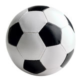 Soccer-ball isolated Royalty Free Stock Photography