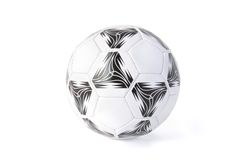 Soccer ball isolated Royalty Free Stock Image