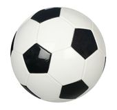 Soccer ball isolated. On plain white background Stock Image