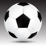Soccer ball. Isolated. Vector illustration Stock Images