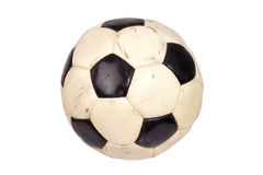 Soccer Ball Isolated on a White Background Stock Photo