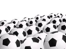 Soccer Ball Isolated on White Background Stock Images