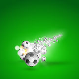 Soccer ball light cover Royalty Free Stock Image