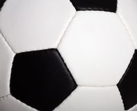 Soccer Ball Macro Stock Image