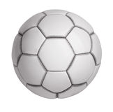 Soccer ball made ​​of artificial leather Stock Photo