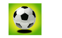 Soccer Ball Mondial 2010. Simple soccer ball 3d illustration for mondial soccer world cup 2010 in south africa Stock Photography