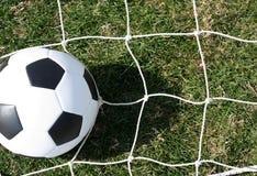 Soccer Ball on the Net Stock Photos
