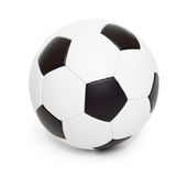 Soccer ball object on white Royalty Free Stock Photos