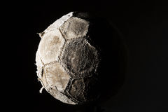 Soccer ball old Royalty Free Stock Images