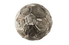 Soccer ball old Stock Photo