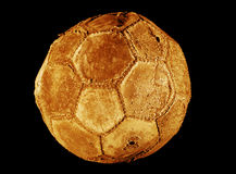 Soccer ball old Stock Photos