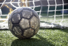 Free Soccer Ball On The Field Royalty Free Stock Images - 21664289