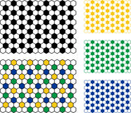 Soccer Ball Pattern. This is a Soccer Ball Pattern Royalty Free Stock Photos