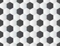 Soccer ball pattern Royalty Free Stock Photography