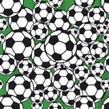 Soccer ball pattern Royalty Free Stock Photos