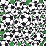 Soccer ball pattern Royalty Free Stock Photos