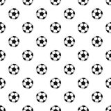 Soccer ball pattern, simple style Royalty Free Stock Photography