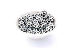 Soccer ball pralines Stock Photo