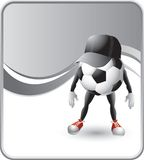 Soccer ball referee Stock Photography